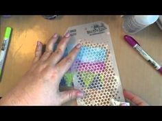 Tim Holtz Distress Crayon Background - YouTube