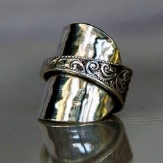 love this spoon ring!