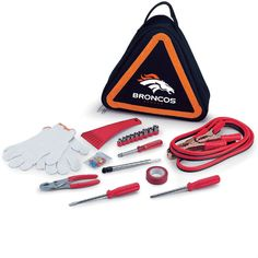 Use this Exclusive coupon code: PINFIVE to receive an additional 5% off the Denver Broncos Roadside Emergency Kit at SportsFansPlus.com