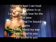 christina aguilera - bound to you with lyrics * burlesque song (+pl. Best Song Ever, Best Songs, Love Songs, First Dance Wedding Songs, Wedding Music, Burlesque Songs, Music Tv, Good Music, Bound To You