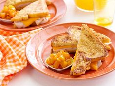 French Toast-wiches with Quick-Cook Warm Chutney