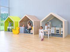 EduCasa : EduCasa Speelhuis XXL eiken (houtendak) | Tangara groothandel - Totaalleverancier voor kinderopvang