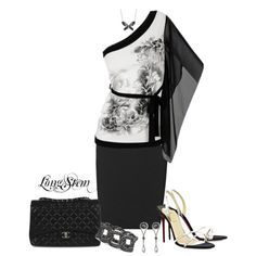 A fashion look from July 2013 featuring one shoulder shirt, pocket skirt and handbag purse. Browse and shop related looks. One Shoulder Shirt, Fashion Looks, Women's Fashion, Skirts With Pockets, Promotion, Purses, Black And White, Formal Dresses, Polyvore