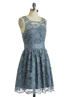 When the Night Comes Dress in Smoke, #ModCloth