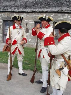 French soldiers Ft. Niagara