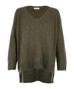 Straight Oversize Sweat Army - Jenterommet Men Sweater, Army, Pullover, Sweaters, Black, Fashion, Gi Joe, Moda, Military