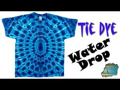How to Tie Dye:  Circle of Life  [Ice Dyed] - YouTube