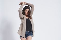 Montholme Cashmere Cardigan - Dark Natural #fashion #style #luxury #knitwear #clothing #inScout