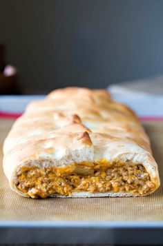 Bacon Cheeseburger Braid Recipe - great way to use ground beef for dinner!