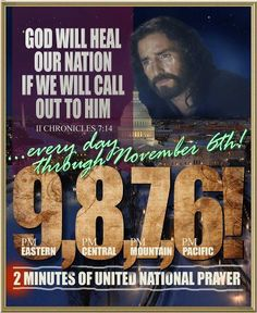 PRAY WITH US TO HEAL THE NATION!