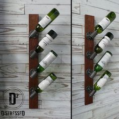 Black Iron Pipe Wine Rack by DesignDistressed on Etsy https://www.etsy.com/listing/187526298/black-iron-pipe-wine-rack