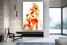 Original Abstract Painting Modern Wall Decor Oversized Wall image 2 Large Canvas Wall Art, Abstract Canvas Art, Extra Large Wall Art, Contemporary Wall Art, Modern Wall Decor, Oversized Wall Art, Colorful Artwork, Office Wall Art, Large Painting