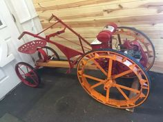 1932 Sears Handiman Antique Tractors, Vintage Tractors, Old Tractors, Lawn Tractors, Pink Tractor, Pedal Tractor, Pedal Cars, Walk Behind Tractor, Garden Tractor Attachments