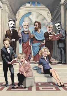 ¿Dónde está la gran filosofía? por J.Gomá Lanzón   Nietzsche, Platón, Aristóteles, Gianni Vattimo, Walter Benjamin, Immanuel Kant, Julia Kristeva y Martha Nussbaum.