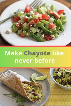 Chili Recipe : How to Cook Chayote Squash Recipes Chili Recipes, Mexican Food Recipes, Salad Recipes, Ethnic Recipes, Chayote Recipes, Low Carb Recipes, Vegan Recipes, Chayote Squash, Side Dishes