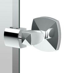 "Gatco 4149SM Jewel 19-1/2""W X 24""H Rectangular Frameless Wall Mounted Mirror wit Chrome Home Decor Mirrors Rectangular"