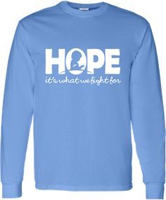 "Tri Delta Alpha Chapter is selling these beautiful ""Hope"" shirts to benefit St. Jude Children's Research Hospital. Free shipping on orders o..."