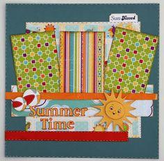Liz's Paper Loft: Scrappy Moms Stamps ~ Sun Kissed Sneak Peek Day 1!