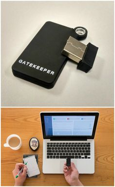 The GateKeeper is a portable gadget that locks your computer when you walk away and unlocks it when you come back. Simple, convenient and secure.