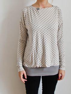 Free pattern for womens longsleeve shirt