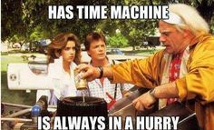 Back to the Future Movie Humor