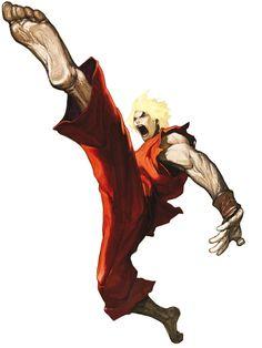 Ken Masters - Characters & Art - SNK vs. Capcom: SVC Chaos