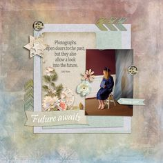 Simple and Elegant Scrapbook Page made with It's A Snap by #SnickerdoodleDesigns, #ADBDesigns and #JilbertsBitsofBytes.  Round 4 of the #StudioRoundRobin #digitalscrapbooking