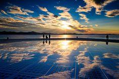 Zadar Der Sonnengruß pozdrav suncuKroatien mit dem Auto