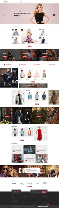 Jhilmil – eCommerce PSD Template is a unique #eCommerce #website #template designed in Photoshop with a…