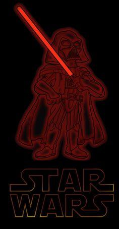 Darth Vader, my favorite character from the Star Wars Saga.