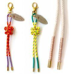 Karen Kimmel Bag Bolo + Key Ring