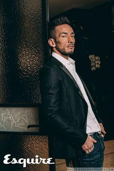Hidetoshi Nakata para Esquire Taiwán por Cheng-yao Tsai
