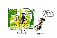 Le musée d'Orsay, à Paris, présente une exposition des tableaux très colorés du Douanier Rousseau.1jour1actu te raconte qui était ce peintre.