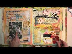 Points of Two Art Journal Flip by Roben Smith.