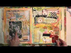 Points of Two Art Journal Flip