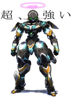 You gotta love these mechas. They're awesome!
