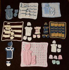 poppenkleertjes/prematuren kleertjes haken - angel baby clothes, Free English crochet patterns