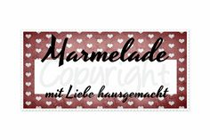 free printable (4 colors) for your jam <3 - Etiketten in 4 Farben für Eure Marmelade