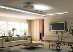 Perfect Living Room With Ceiling Treatment Design   Aida Homes Part 89