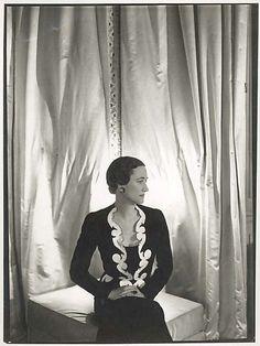 Photograph  Cecil Beaton  (British, 1904–1980)  Subject: Duchess of Windsor (American, 1896–1986) Designer: Elsa Schiaparelli (Italian, 1890–1973)
