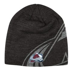 9645aed996d7 Mens Colorado Avalanche Reebok Gray Travel Training Knit Beanie