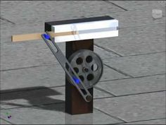 WhitWorth Quick Return Mechanism demonstration - YouTube