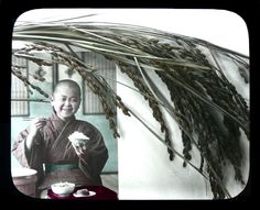 Gohan, ca.1900-1905 attr. to Kozaburo Tamamura || The happiness of having a white rice bowl an each and every day