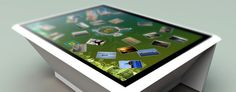 Interactive Interior Touch screen Table