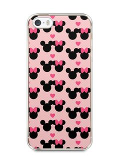 Capa Iphone 5/S Mickey e Minnie - SmartCases - Acessórios para celulares e tablets :)