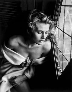 Peter Basch. Anita Ekberg. 1950's.