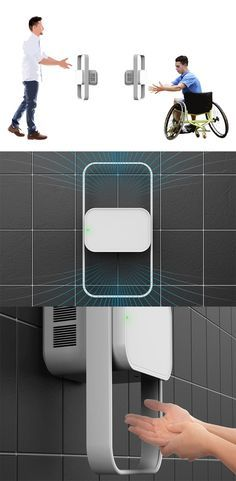The 'Universal Hand Dryer' is the answer for people using a public bathroom where some have to think about accessibility features of the bathroom or height limitations which can make the task a bit more difficult... READ MORE at Yanko Design !