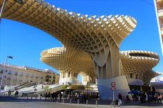 Metropol Parasol. .Sevilla. Spain