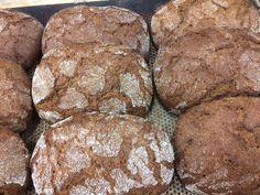 Ruislimppu | Finnish sourdough rye bread | Ossin Pulla Oy Sourdough Rye Bread, Breads, Cookies, Chocolate, Desserts, Food, Bread Rolls, Crack Crackers, Tailgate Desserts