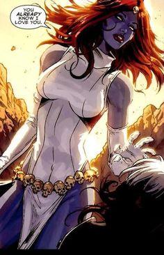 Najseksowniejsze kobiety z komiksów Marvela - Manga, Anime, Fantasy, Filmy, Seriale, Komiksy, Książki & Gry na konsole ^^ - PPE.pl